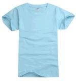 L'OEM entretiennent le T-shirt de couleur de plaine du coton de qualité des hommes faits sur commande de vêtements
