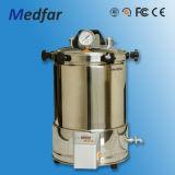 Medfar horizontaler runder Druck-Dampf-Sterilisator Mfj-Yx600W