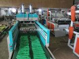 Full Auto Vier-Zeile Plastikweste-Beutel, der Maschine herstellt