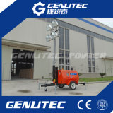 4 * 1000W Trailer Mounted Mobile Diesel Tower Light
