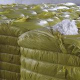 연약하고 높은 신축성은 폴리에스테르섬유 폴리에스테 물림쇠 섬유 백색 색깔을 재생한다