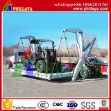 De Aanhangwagens van de Chassis van het Vervoer van de Carrier van de Container van het skelet