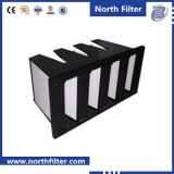 Воздушный фильтр очистителя воздуха V-Крена с средней эффективностью