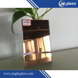 De gekleurde Weerspiegelende Spiegel Afgeschuinde Spiegel van de Rand voor de Decoratieve Spiegel van de Badkamers