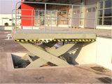 matériel stationnaire hydraulique de levage des ciseaux 2t