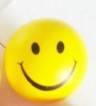 Face de sourire de jouets éducatifs de petite enfance de bille de mousse d'unité centrale