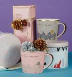 Tasse en céramique de Xms de cadre de bidon pour le cadeau