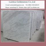 La superficie di marmo bianca bianca inclusa delle mattonelle di Volakas ha lucidato