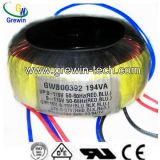 Toroidal Transformator van de Distributie van de Kern van het koper voor Audio