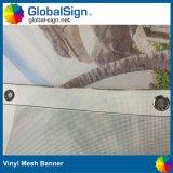 デジタル印刷のビニールの塀の網の旗の巨大な建物PVC網の旗