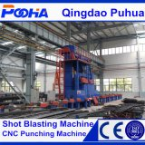 2017 Hot Sale Roller Conveyor Steel Pipe Surface Shot Blasting Cleaning Machine (QGW)