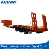 De Chhgc 3axle Lowbed do feixe reboque côncavo Semi