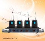 Ультракрасный автоматический микрофон радиотелеграфа каналов UHF 4 частоты