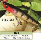 vairon de coulage Crankbait de pêche en plastique dur fait sur commande fait par qualité - Wobbler de 70mm - attrait de pêche de Popper de cyprins