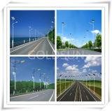 Lámpara solar integrada del camino del LED, alumbrado público 15W-160W