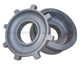 ISO 9001를 가진 높은 정밀도 탄소 강철 주물 덮개