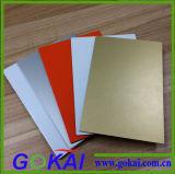лист/плита 4mm померанцовые подгонянные алюминиевые для листа толя панели ACP пластичного составного
