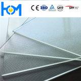 Hm 3.2mm光起電太陽緩和された明確なシートのモジュールガラス
