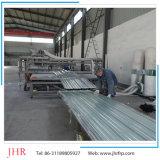Oberlicht-Dach-Panel-Fiberglas-Dach-Blätter des Gewächshaus-gewölbte FRP, die Maschine herstellen