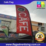 Фабрика внушительного рекламируя изготовленный на заказ флага пляжа пера