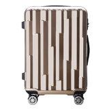 熱い販売防水純粋なカラー工場PC+ ABS旅行トロリー荷物