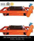 Separador magnético permanente autolimpiador para el cemento, removedor del hierro