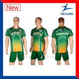 Rugbi profesional Jersey de la impresión de Digitaces del deporte de Healong con la Rasgar-Protección