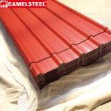 Überzogene PPGI Metallfliese färben gerunzelt Roofing Blatt