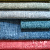 Linen composto Fabric con Brushed Backing per Sofa Covers