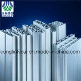 Profils d'extrusion d'alliage d'aluminium de chemin de fer