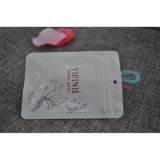 Bolso de repuesto del botón del plástico con el Hangtag