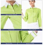 100% algodón mujeres chef cubre uniformes de cocina