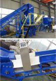 Grosser Beutel des Plastikpp., der Maschine aufbereitet