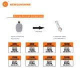 Kit di modifica del dispositivo LED del contenitore di pattino del rimontaggio 100W LED della lampada dell'UL 220V E26 E40 HPS/Mh/HID di RoHS del Ce