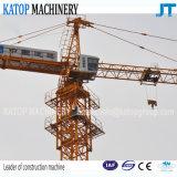 Guindaste de torre Qtz60-5010 forte do melhor serviço do tipo de Katop para a maquinaria de construção