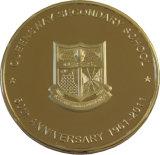 Queensway Sekundärschule-Jahrestags-Münze