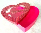 Le chocolat a entendu la boîte de cadeau rigide de papier de carton de forme (YL0502)