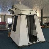 2~4 tenda terrestre rivestita della parte superiore del tetto dell'automobile delle persone 50% Polyster