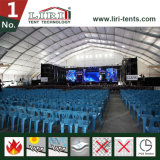 音楽コンサートの大きいドームのカーブの玄関ひさしのためのホールの大きいテント