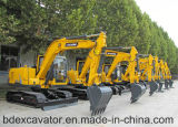 Máquinas escavadoras fáceis da esteira rolante das máquinas escavadoras Bd90 da operação Yellow/0.5m3