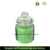 Home Decoration SupplierのためのLidのガラスJar Container