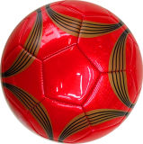 Color azul Size 5 Machine Stitched Football para Promotion