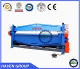 WH06-1.5X3050 tipo manual máquina de doblez y plegable de la placa de acero