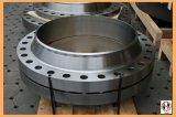 Выкованный фланец стали точности 34CrNiMo6 12crmo CNC подвергая механической обработке