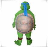 Costume della mascotte del fumetto delle tartarughe