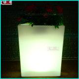 LED Meubles de mariage et décorations Vases en plastique avec LED