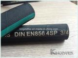 20 Jahre Fabrik-hitzebeständige Draht-Spirale LÄRM En856 4sp/4sh hydraulische Gummischlauch-