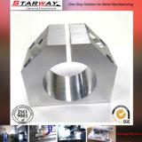 Aluminium CNC, der mit Goldoxid maschinell bearbeitet
