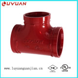 Te de Eaqual de la instalación de tuberías del bastidor con estándar de ASTM