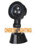 Luz clasificada IP65 de 3W LED con el punto para el uso del jardín